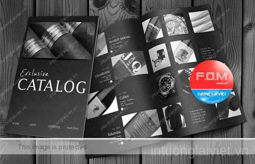 Những thiết kế catalogue đẹp và chuyên nghiệp