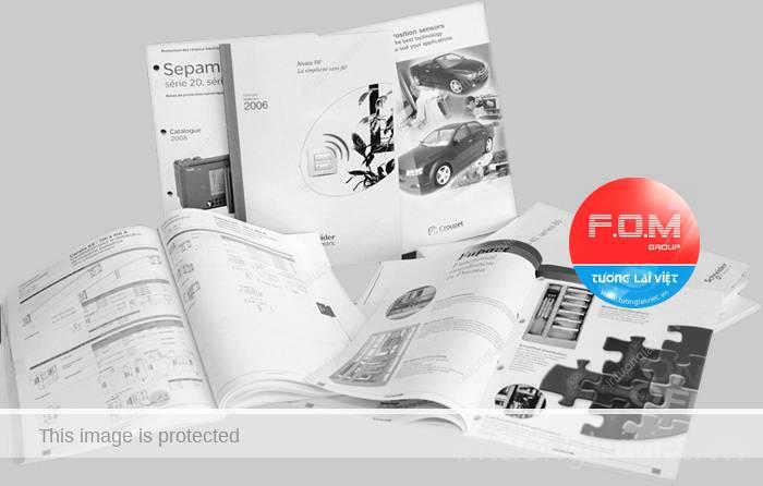Phương pháp thiết kế catalogue chuyên nghiệp