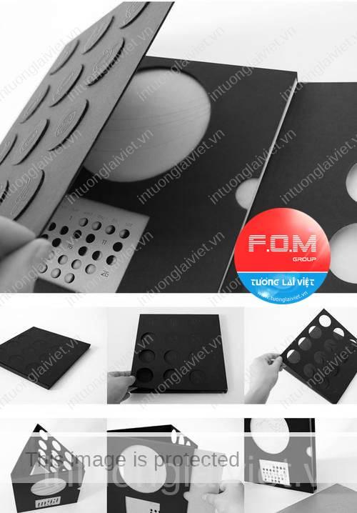 10 ý tưởng thiết kế lịch tết 07