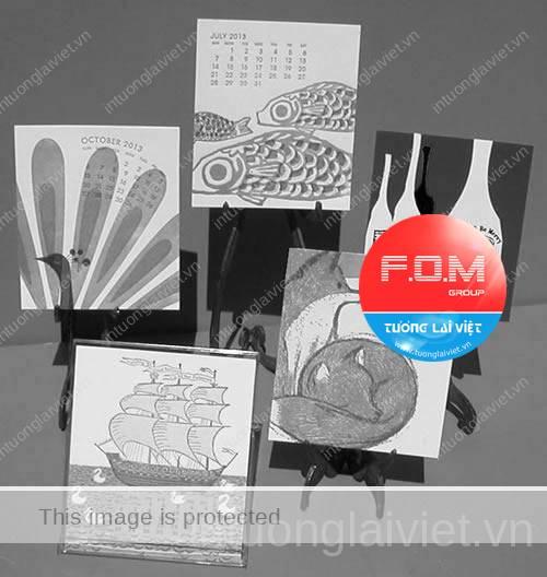10 ý tưởng thiết kế lịch tết 09